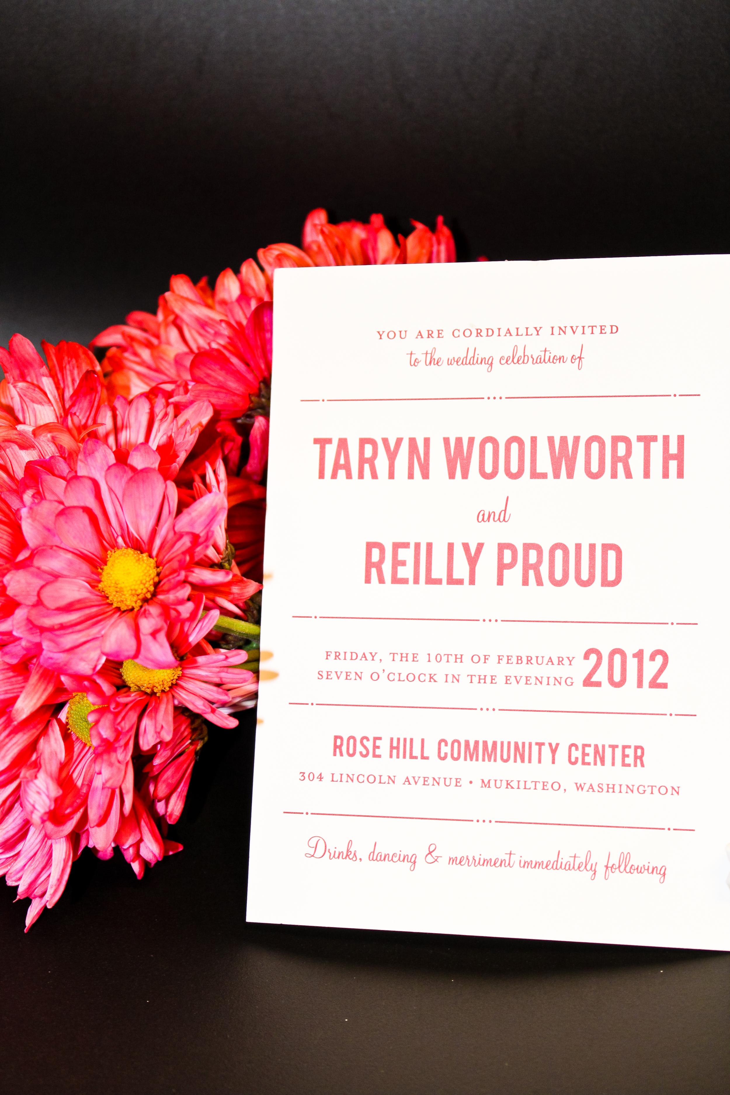 Real Wedding: Taryn & Reilly —