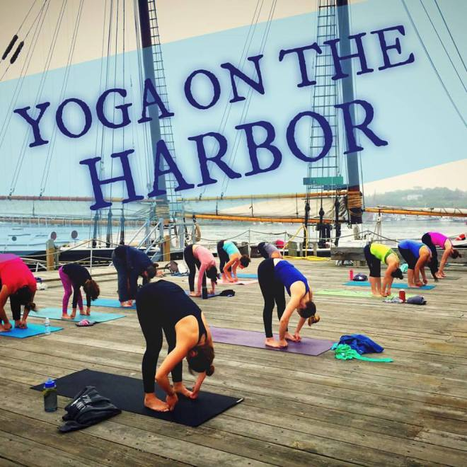 yoga on the harbor
