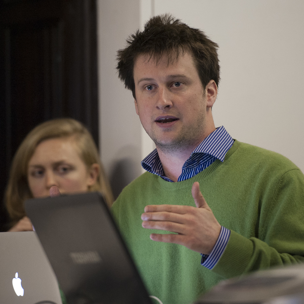 Edinburgh: We also heard from Adam Ramsay who is the Co-Editor of OurKingdom, works with Bright Green and was previously a full time campaigner with People & Planet.