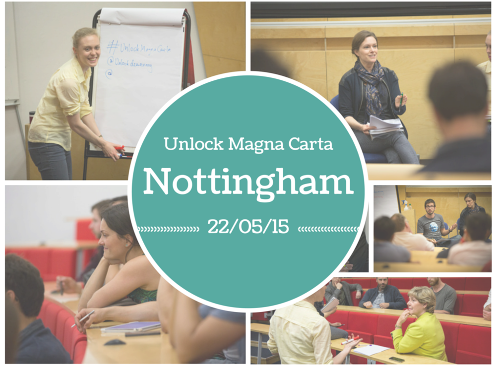 Unlock Magna Carta Nottingham Gallery