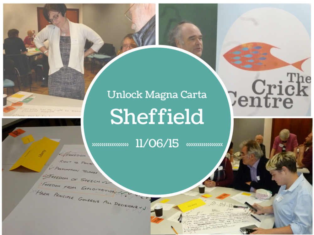 Unlock Magna Carta Sheffield, 11th June