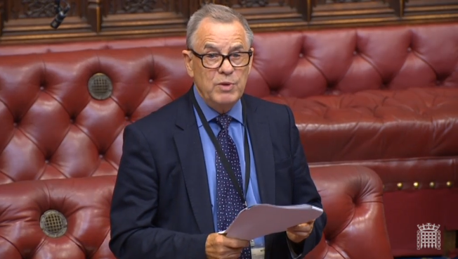 Lord Brooke of Alverthorpe presented his bill to the House of Lords todAY