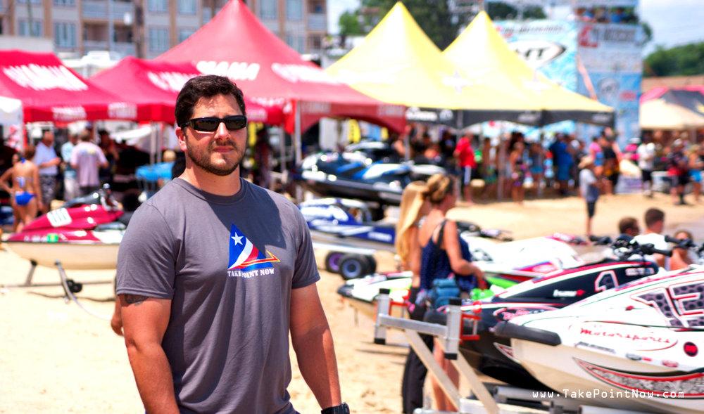 Take Point Now photo by Erika Christie TakePointNow.com Colonial Beach Jet Ski Races