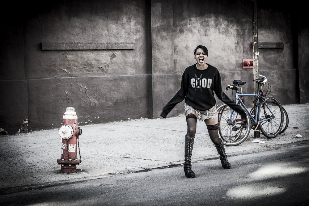Badass photo of Jessica Davis jesxdav in Brooklyn, NY by Erika Christie.
