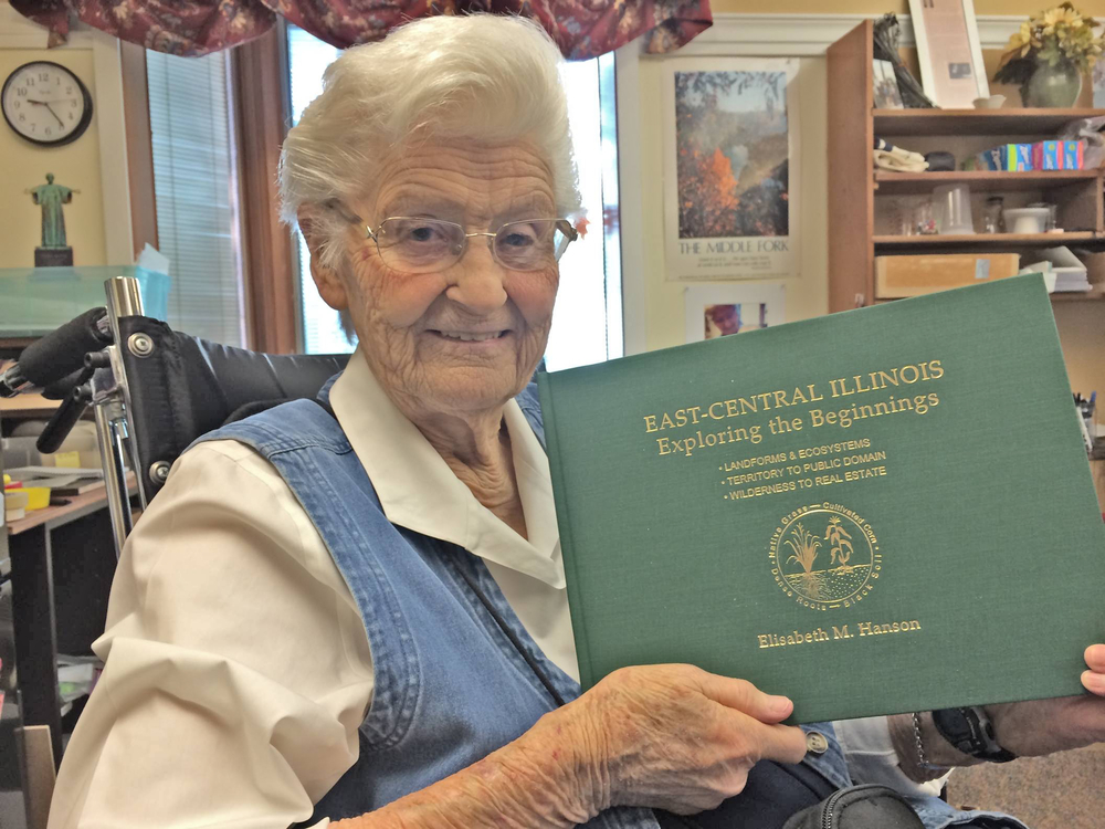 Author Elisabeth M. Hanson  (November 2, 1917 - May 14, 2016)