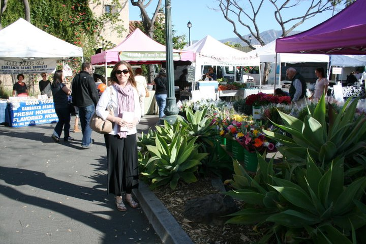 Farmer's Market in Santa Barbara