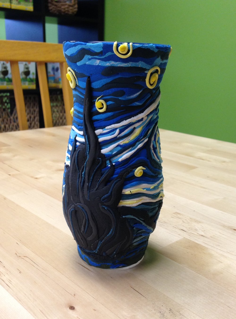 Starry Night Vase.JPG