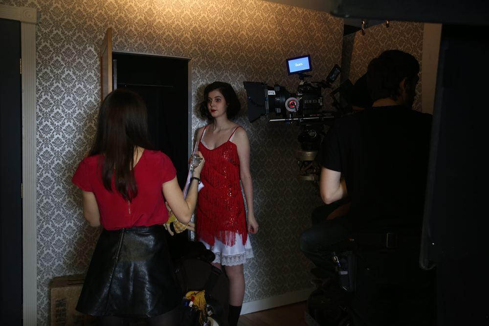 Rebekah Fieschi directing Alice Dessuant (Jenny)