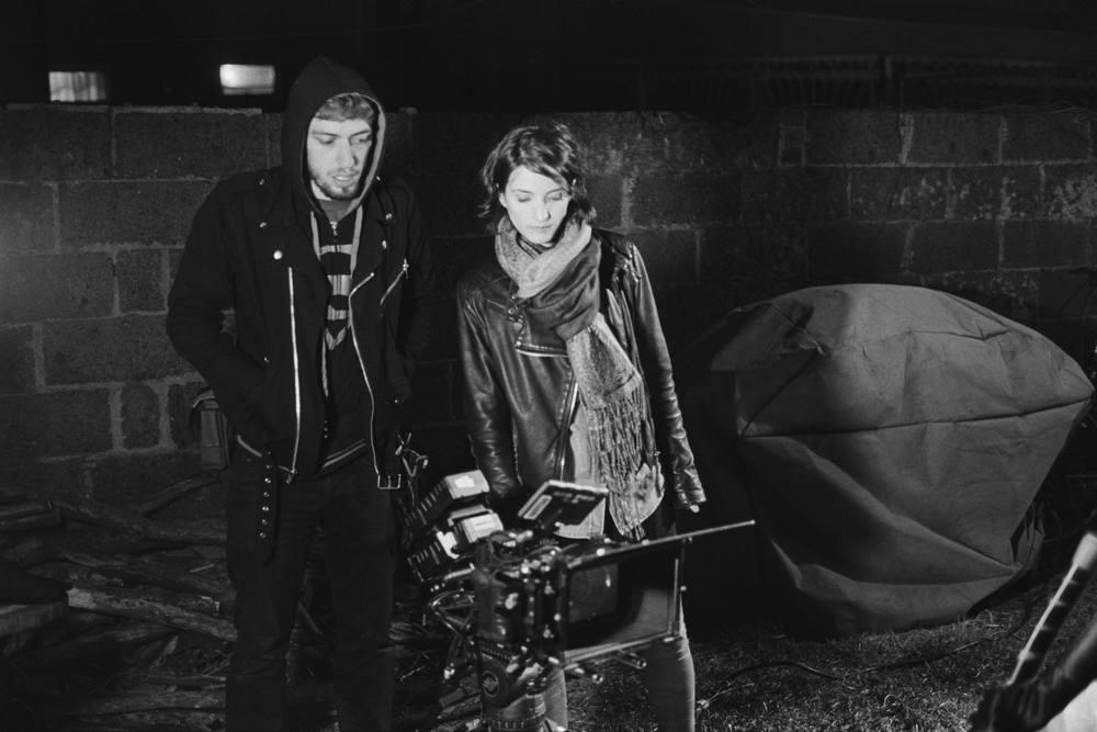 Writer/Director Rebekah Fieschi and Camera Assistant David Faynberg