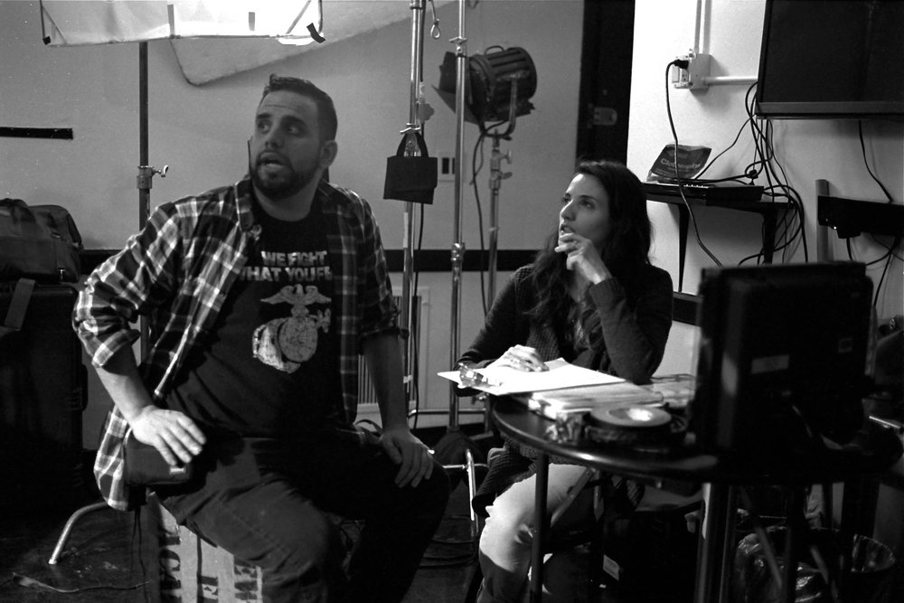 Director of Photography Dominick Sivilli and Writer/Director Rebekah Fieschi