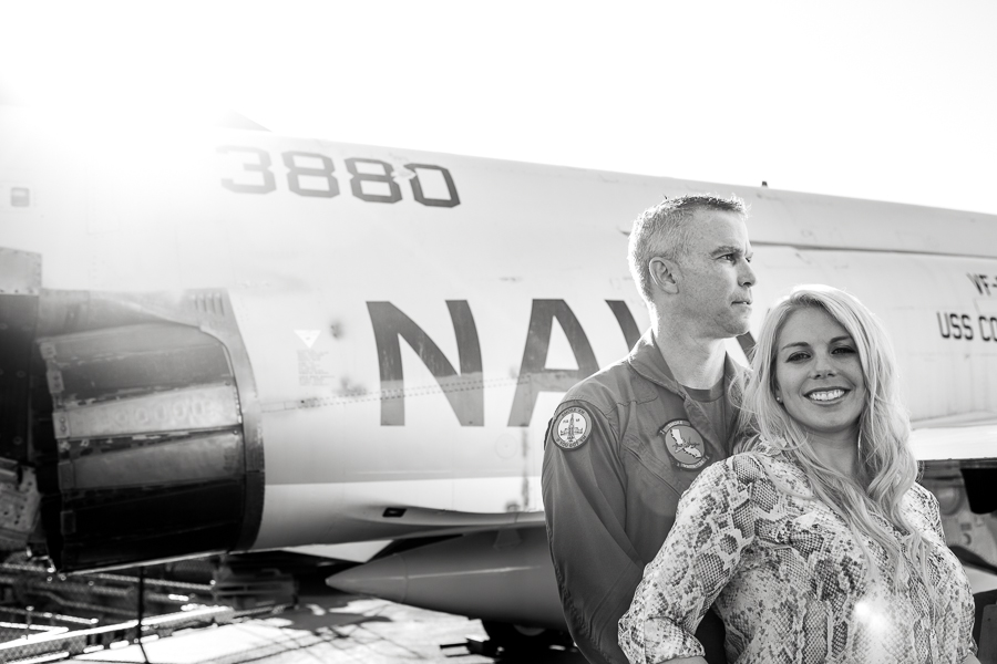 Engagement Session USS Midway and Hotel Del Coronado