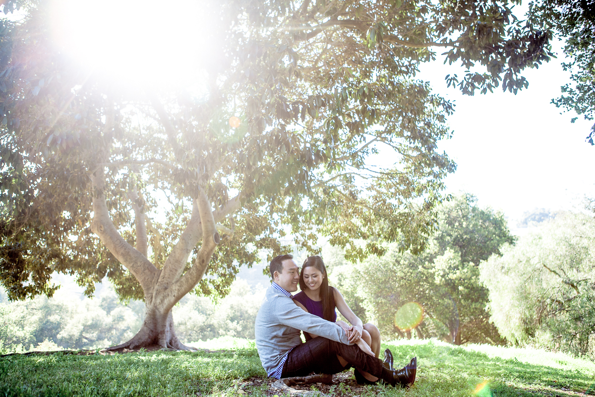 Engagement Session Balboa Park Sunset cliffs and Gaslamp