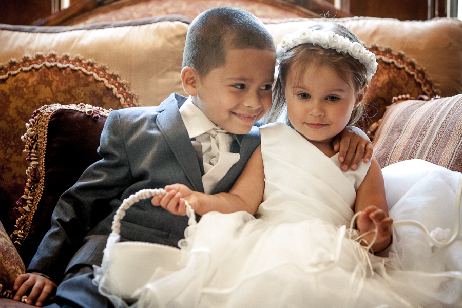 RING BEARER AND FLOWER GIRL WEDDING GRAND TRADITION
