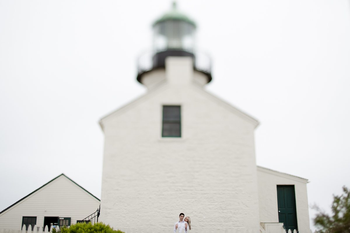 ENGAGEMENT SESSION CABRILLO MOUNTAIN LIGHTHOUSE 2013