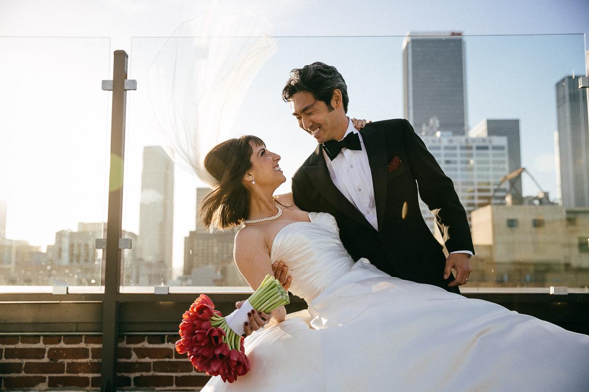 Just married in LA