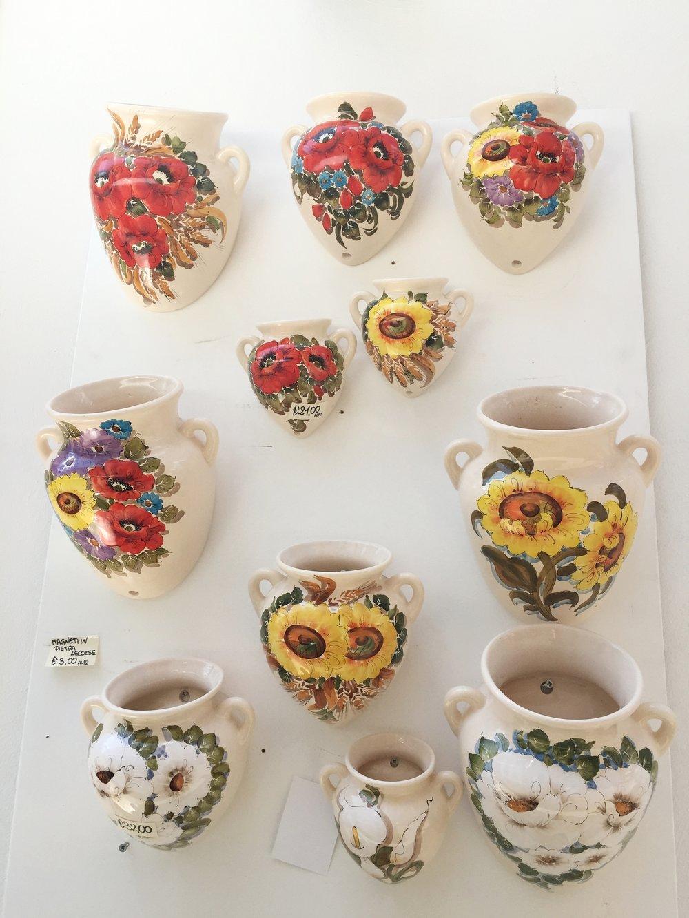ceramics in ostuni