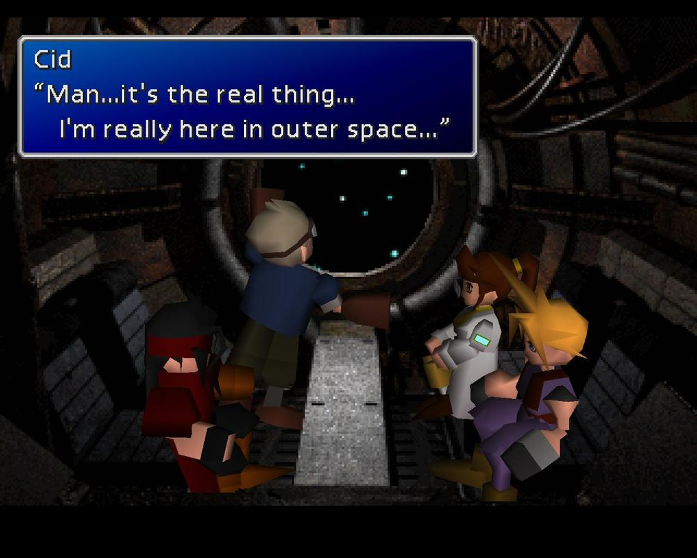 Final Fantasy VII Screenshots 50 star wars scene.jpg