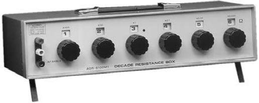 6-Dial Decade Resistor Box