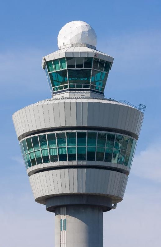 Control Tower with Radar