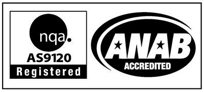 ISO AS9120 Registered