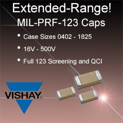 Vishay Capacitors - Vishay's capacitors are constructed using a reliable Noble Metal Electrode (NME) system of Palladium Silver (PdAg) and are fully qualified to meet the requirements of MIL-PRF-55681. Available in a broad range of capacitance values.