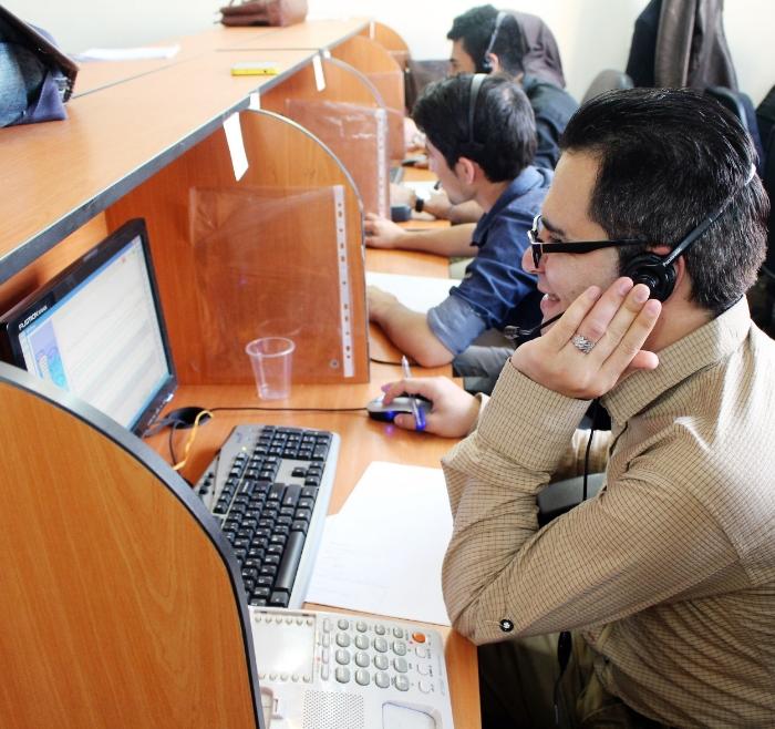 IranPoll CATI call center