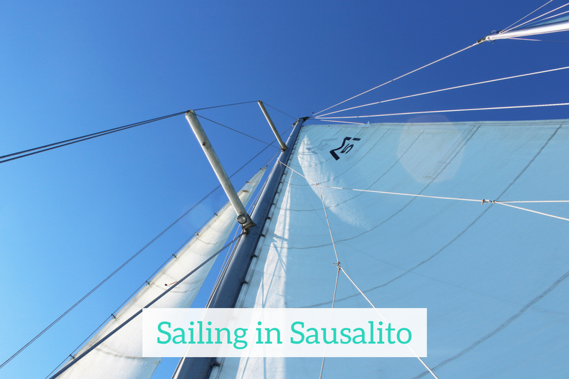 Gennifer Rose - Sailing in Sausalito