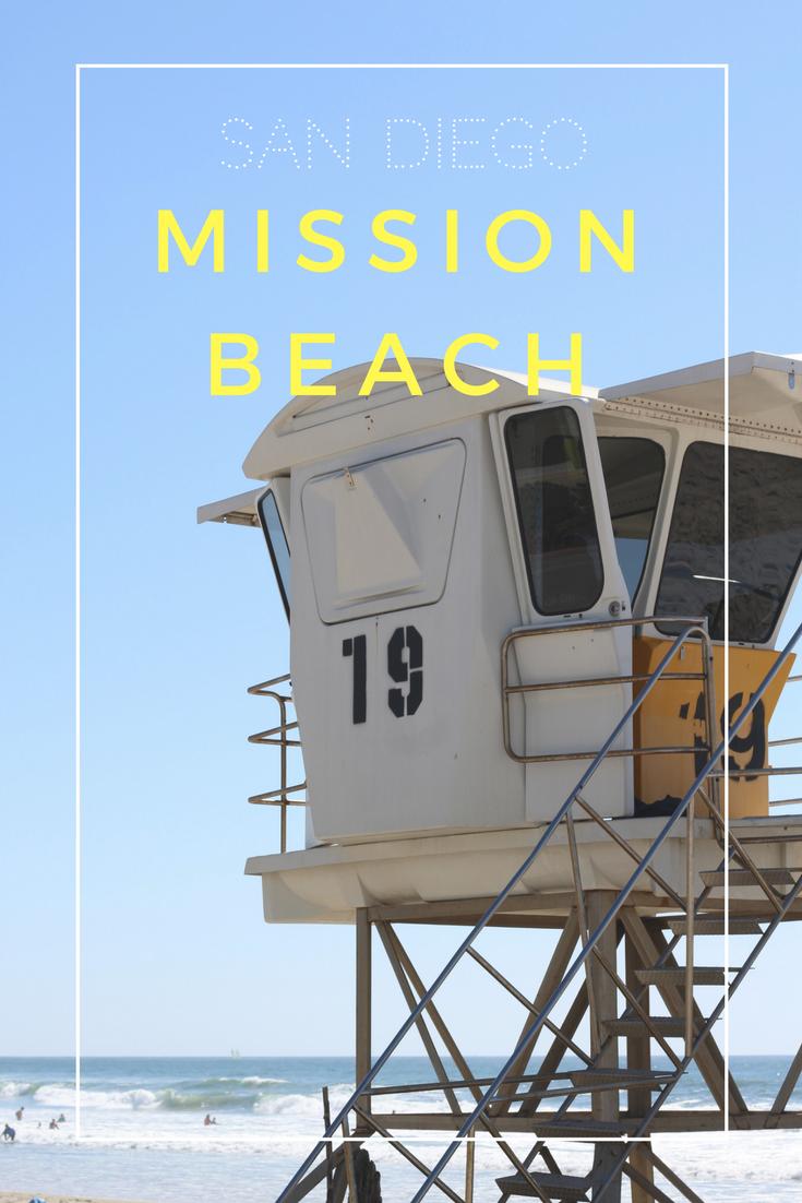 Gennifer Rose - Mission Beach Pin