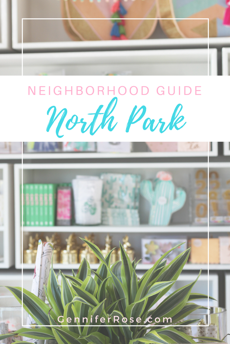 Gennifer Rose - Travel Guide to North Park, San Diego