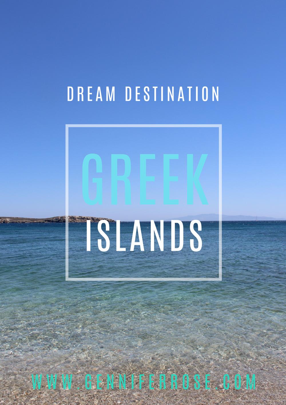 Gennifer Rose - Greek Islands
