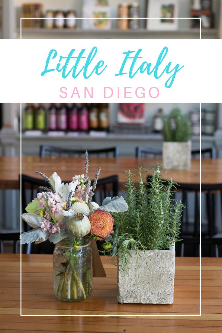 Gennifer Rose - Little Italy, San Diego Pin