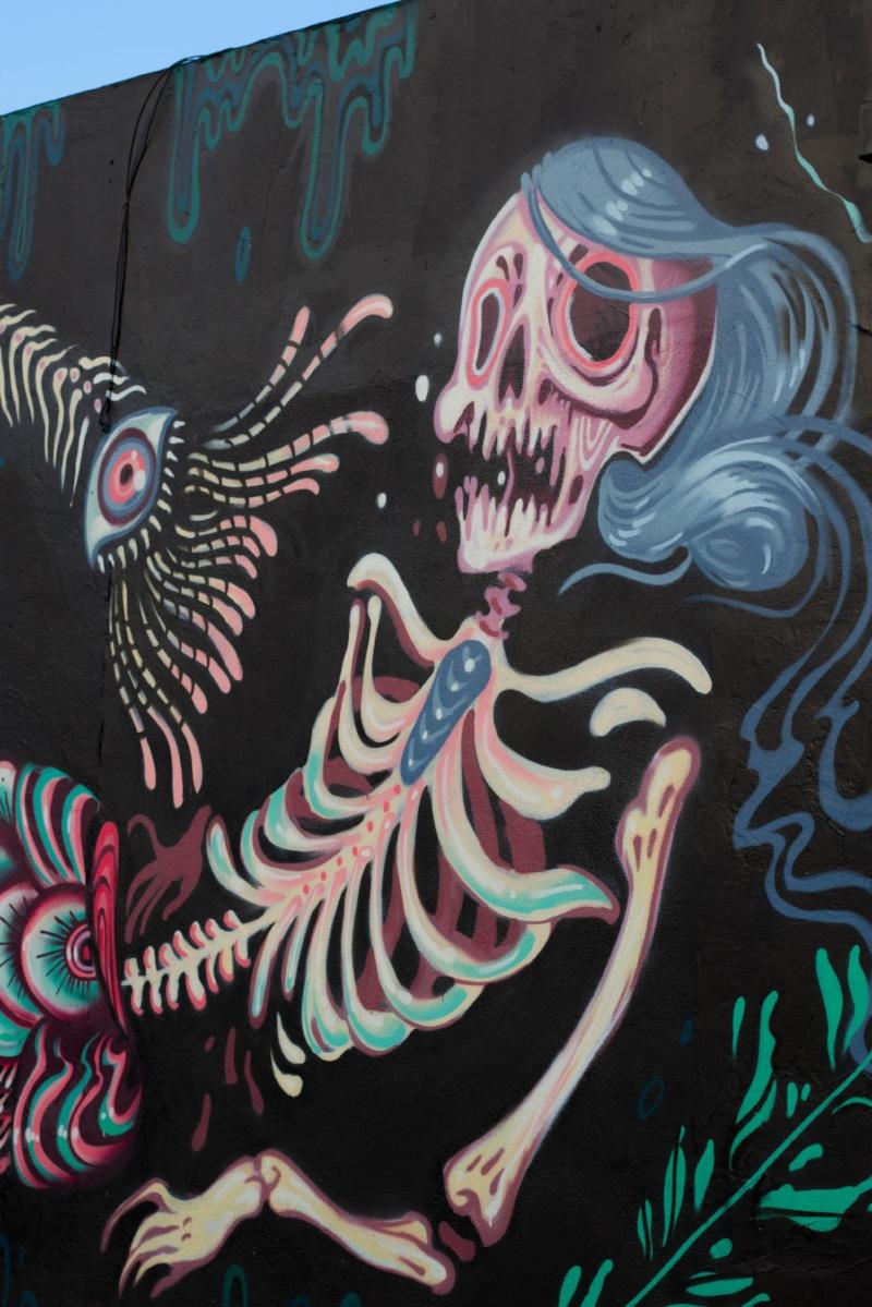 Gennifer Rose - San Diego Murals