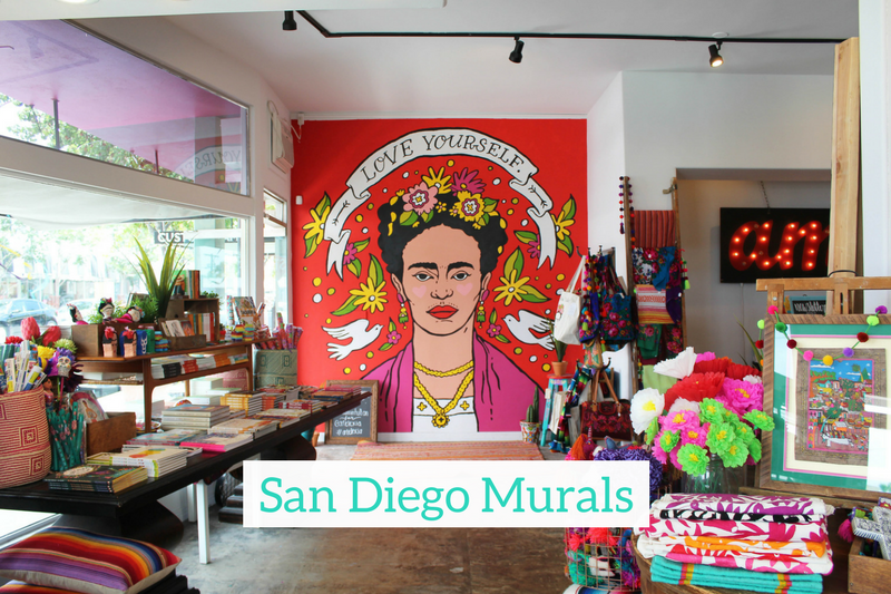 Gennifer Rose - Guide to Murals in San Diego