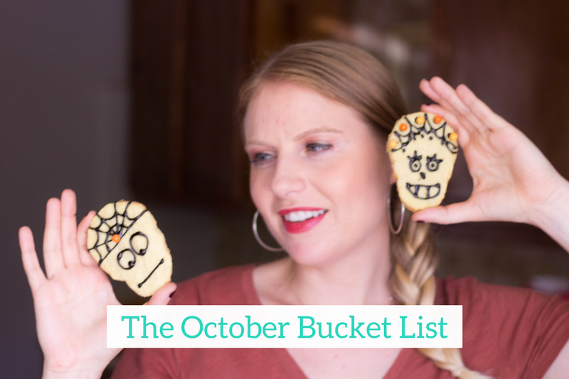Gennifer Rose - October Bucket List