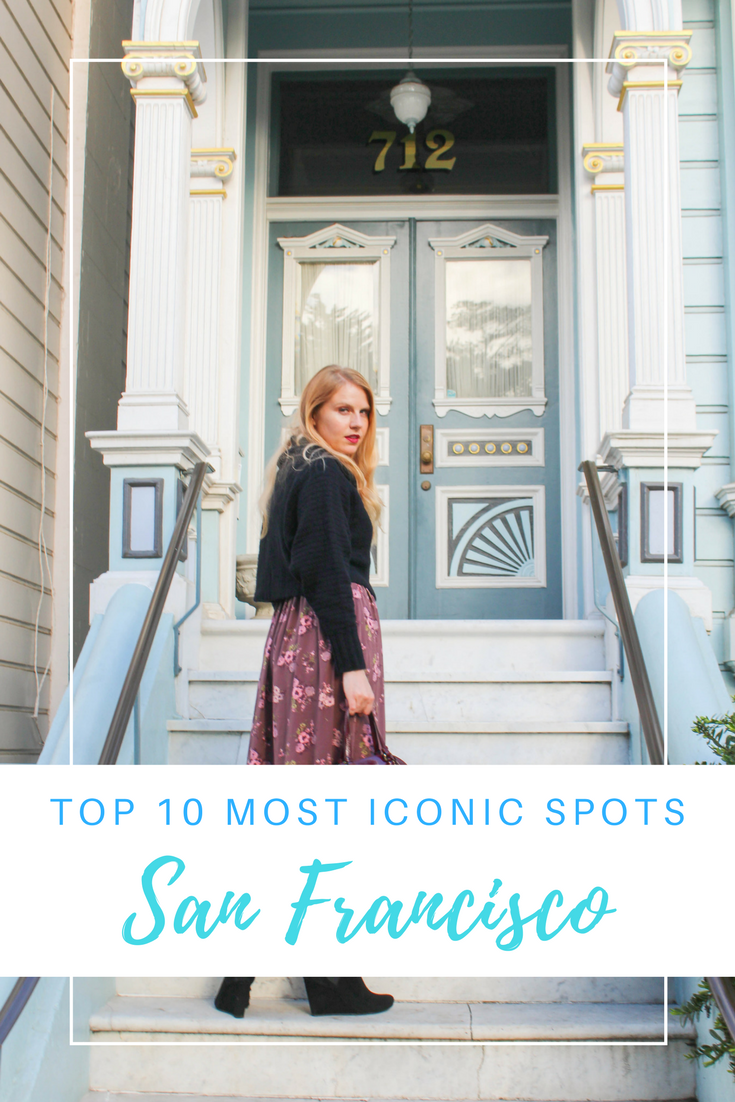 Gennifer Rose - Top 10 Iconic San Francisco Spots
