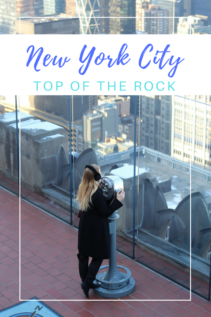 Gennifer Rose - New York City's Top of the Rock