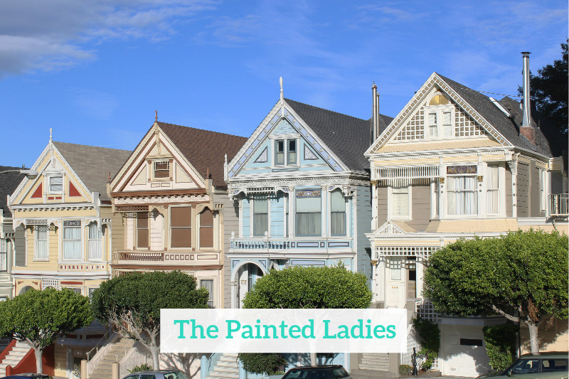 Gennifer Rose - San Francisco Painted Ladies