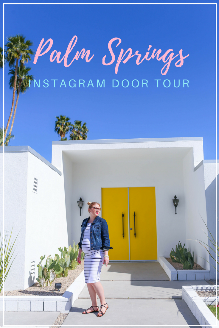 Gennifer Rose - Palm Springs Instagram Door Tour