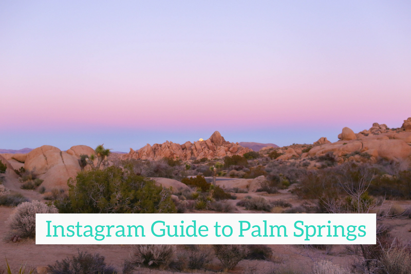 Gennifer Rose - Instagram Guide to Palm Springs