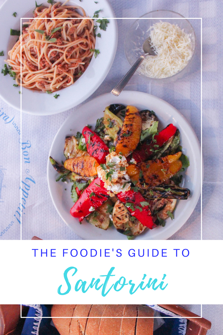 Gennifer Rose - The Foodie's Guide to Santorini