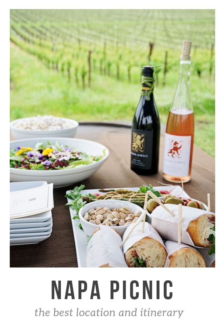 Weekened picnic in Napa? Yes please! The best location and itinerary on the blog.