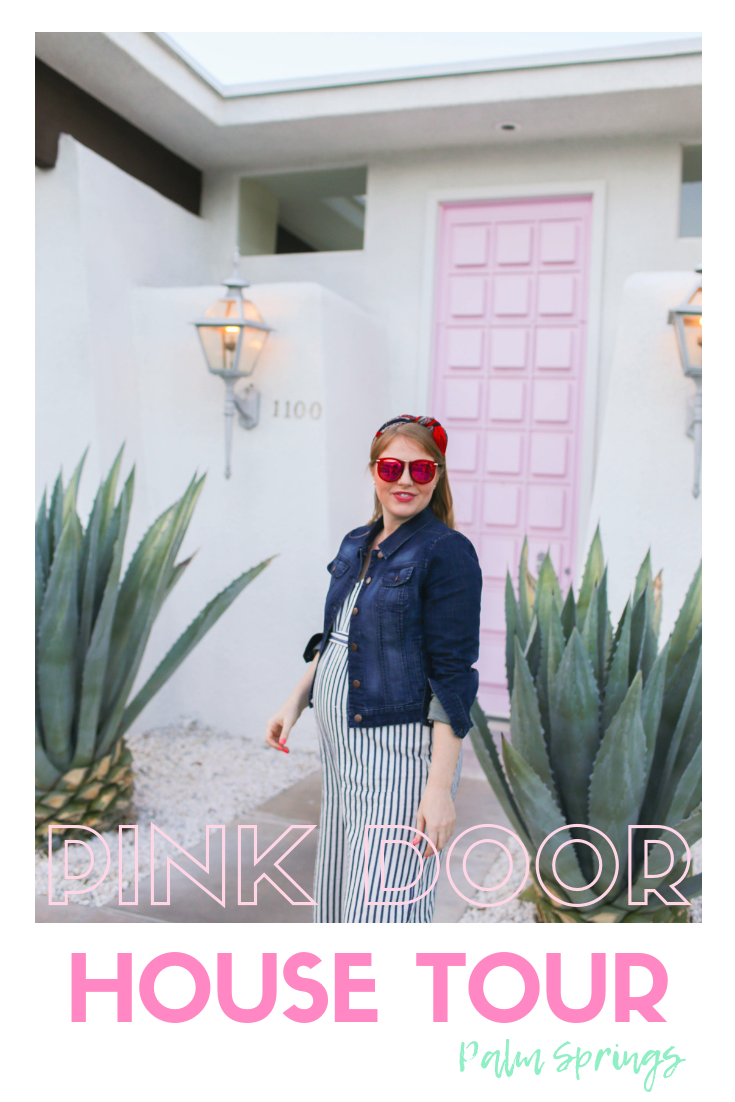 Palm Springs Door Tour + Inside the Pink Door