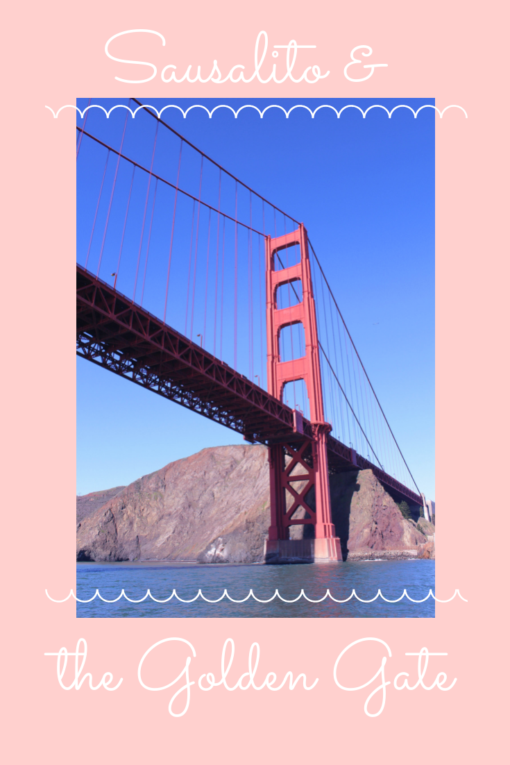 Sausalito, Ca + California Spring Bucket List