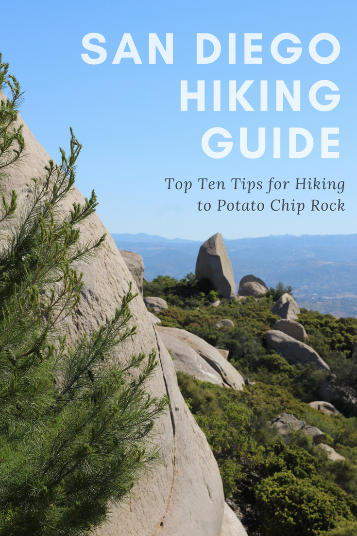 Gennifer Rose - Hiking Guide to Potato Chip Rock