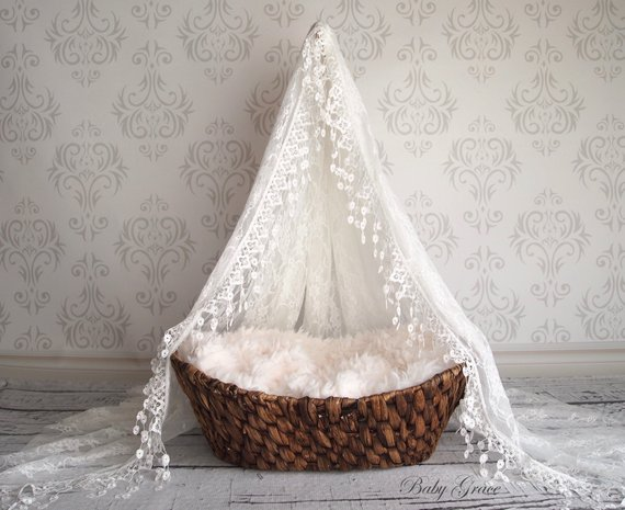 Newborn Canopy and Stand By BabyGraceHats
