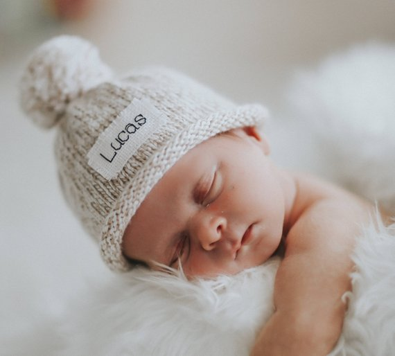 Knit Baby Hat By KarenFudge