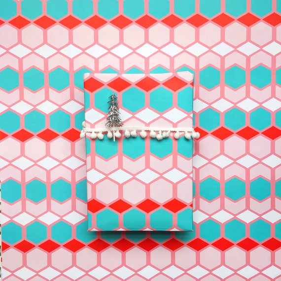 Shop whimsical wrapping paper from Bash Party Goods.