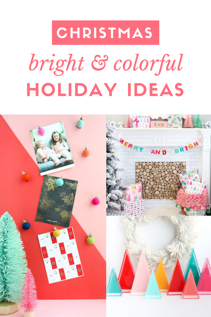 Etsy Colorful Christmas Decor and Gift Guide