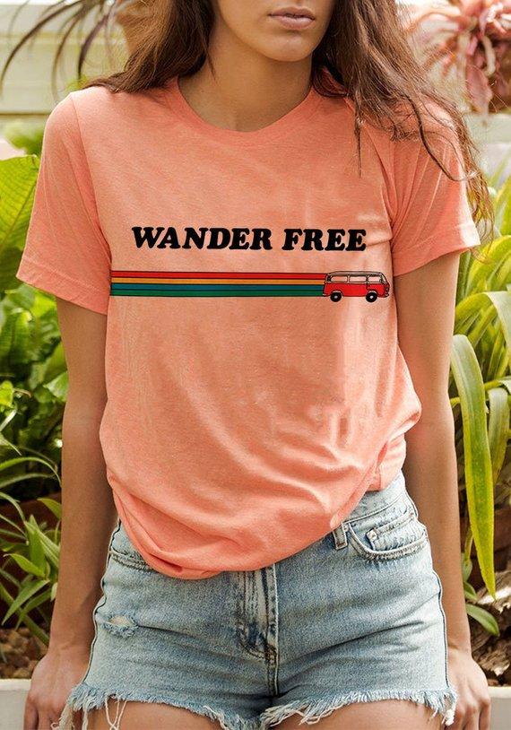 Wander Free Tee by KaeRaz