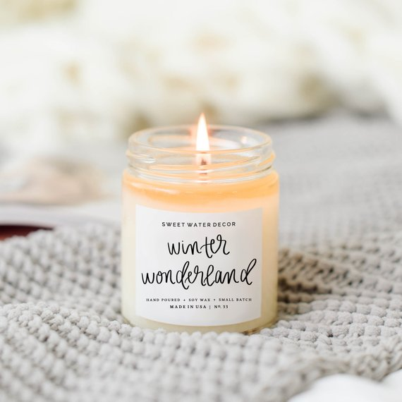 Winter Wonderland Candle By Sweetwaterdecor